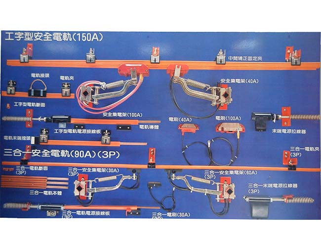 Safety Power Rail & Parts