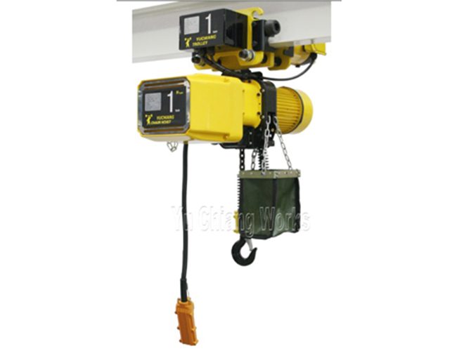 50HZ Electric Monorail chain hoist