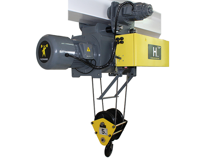 50HZ Monorail Electric Wire Rope Hoist - Dual Speed