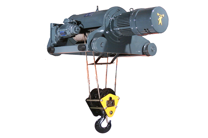 60HZ Double-rail Electric Wire Rope Hoist for Low Space application - Dual Speed